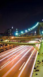 Bridge Long Exposure In City
