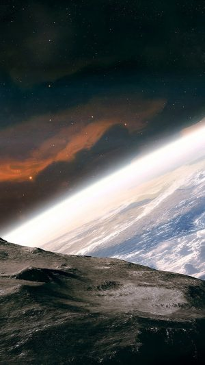 Earth In Space Nebula