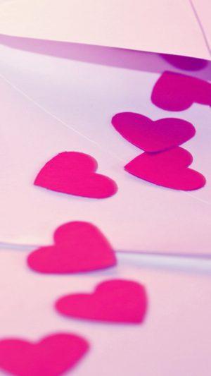 Pink Hearts Valentine