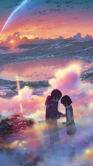 YourName Anime Art Night Cute Kimi no Na wa