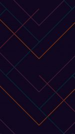 Abstract Dark Geometric Line Pattern