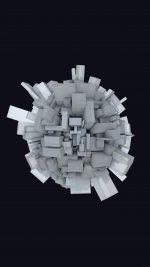 Abstract Earth Digital Illust Art