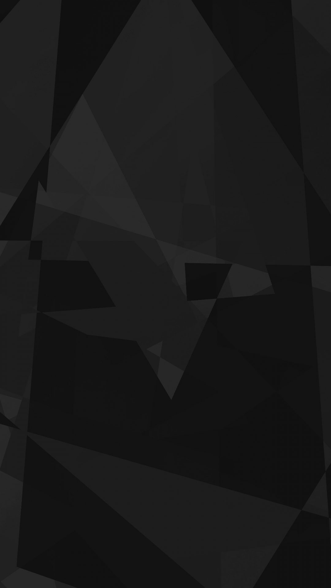 Abstract Polyart Dark Bw Pattern