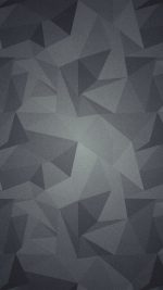 Abstract Polygon Dark Bw Pattern