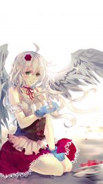 Angel Anime Girl Art Illust