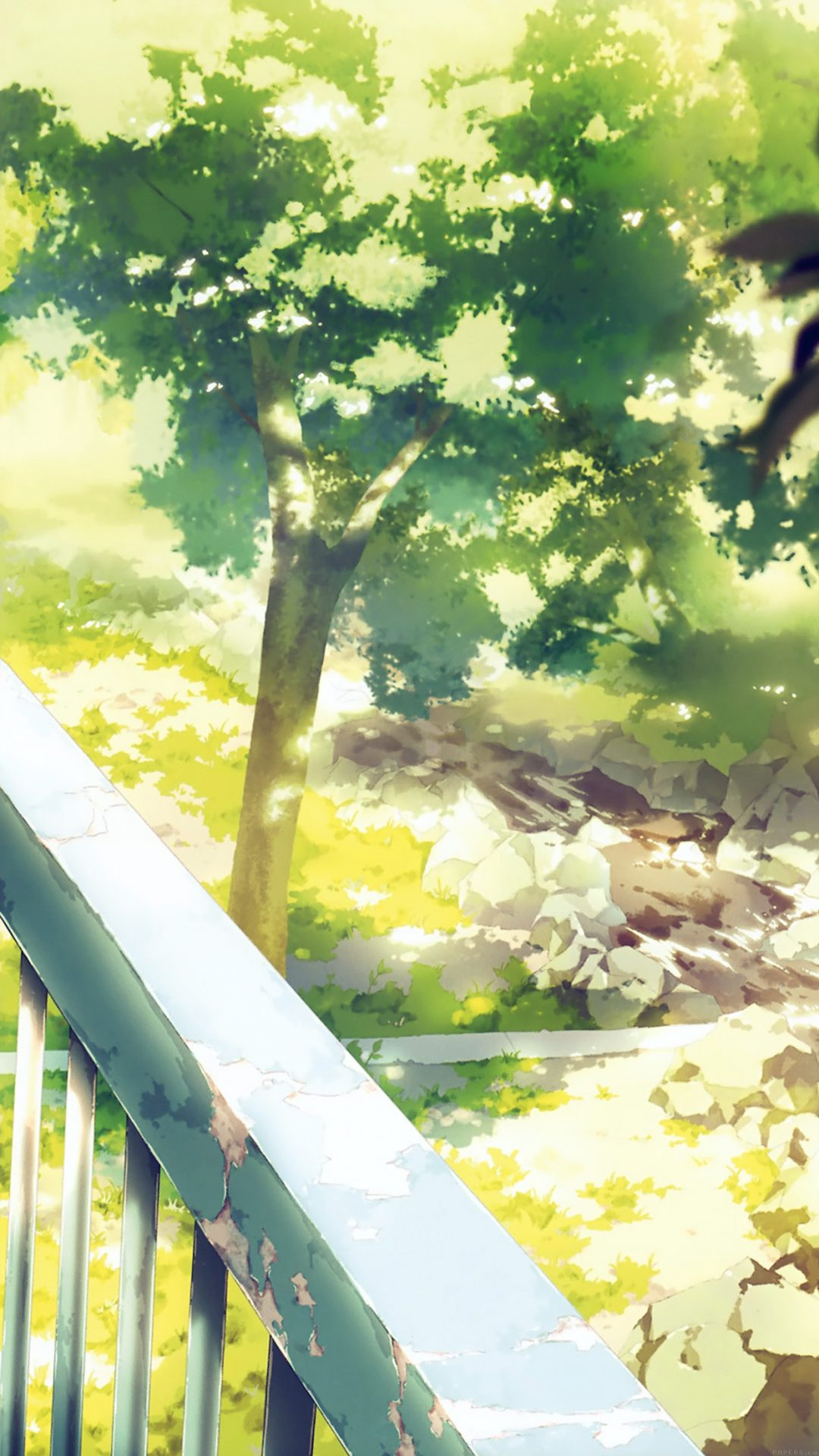 Anime Background Art Illust Forest
