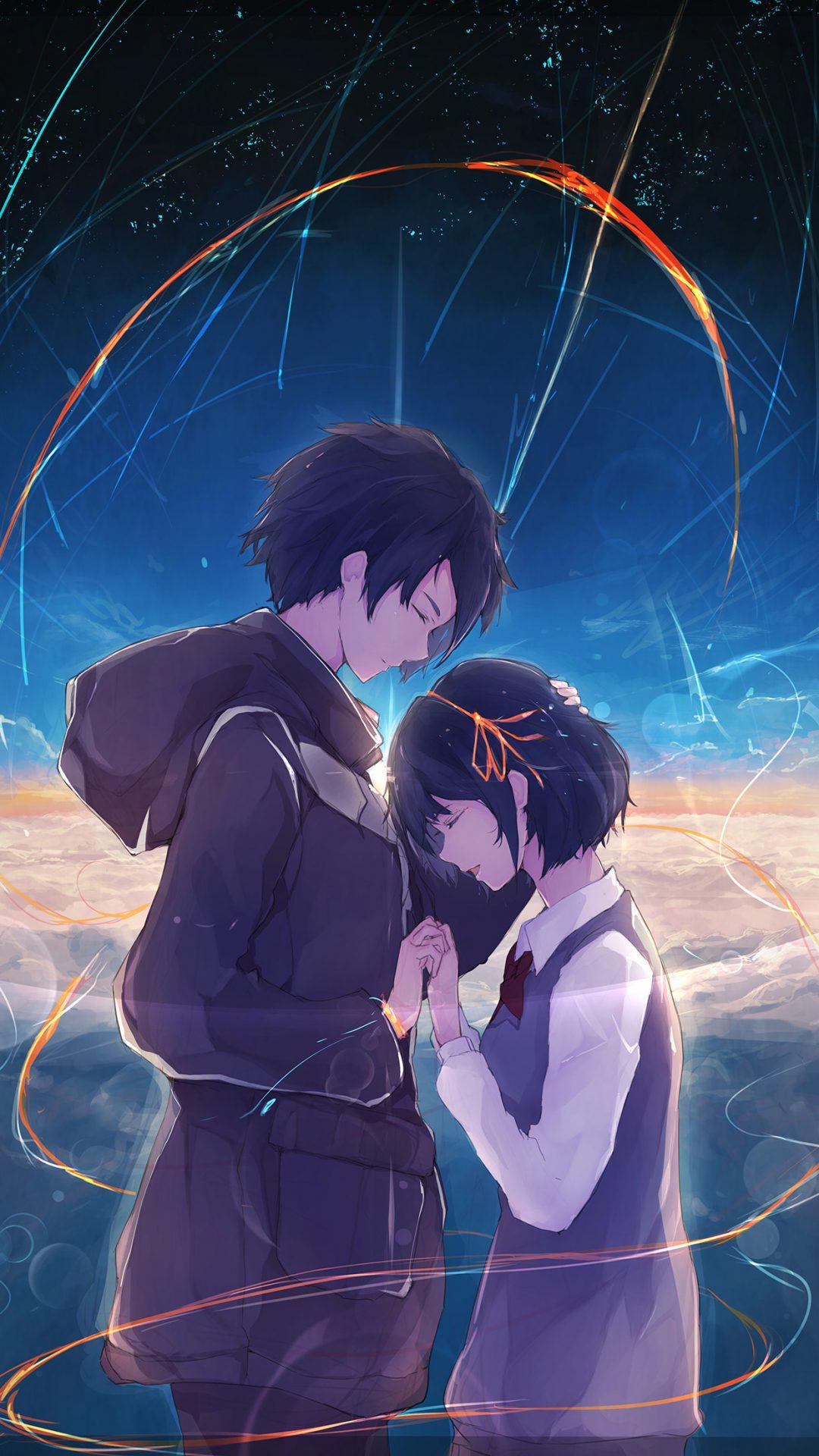 Anime Kiminonawa Drawing Art Illustration
