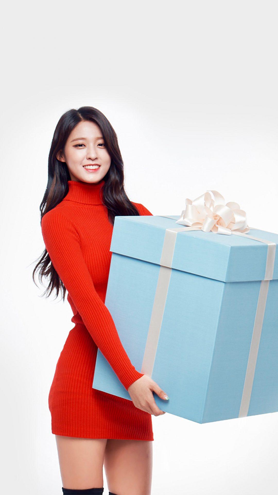 Aoa Seolhyun Cute Chirstmas Girl Kpop