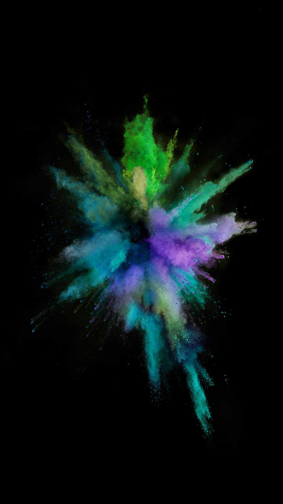 Apple Color Rainbow Dark Spark Ios9 Iphone6s