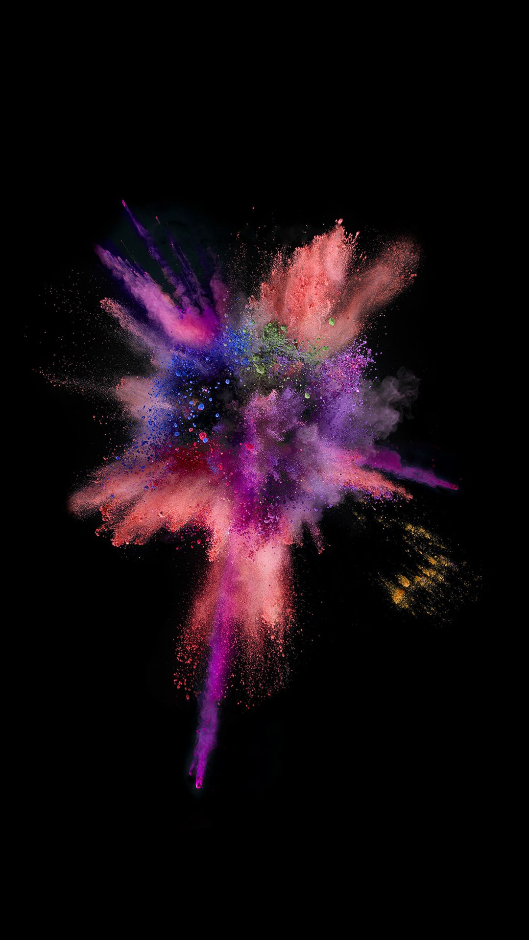 Apple Dark Spark IOS 9 Color Rainbow