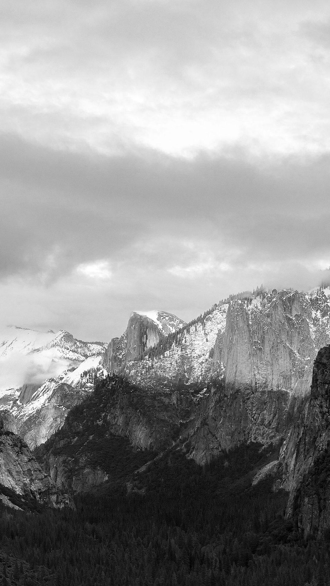 Apple El Capitan OSX Mac Mountain Wwdc Dark Bw