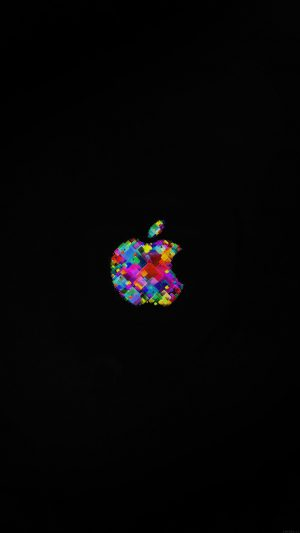 Apple Event Logo Art Dark Minimal