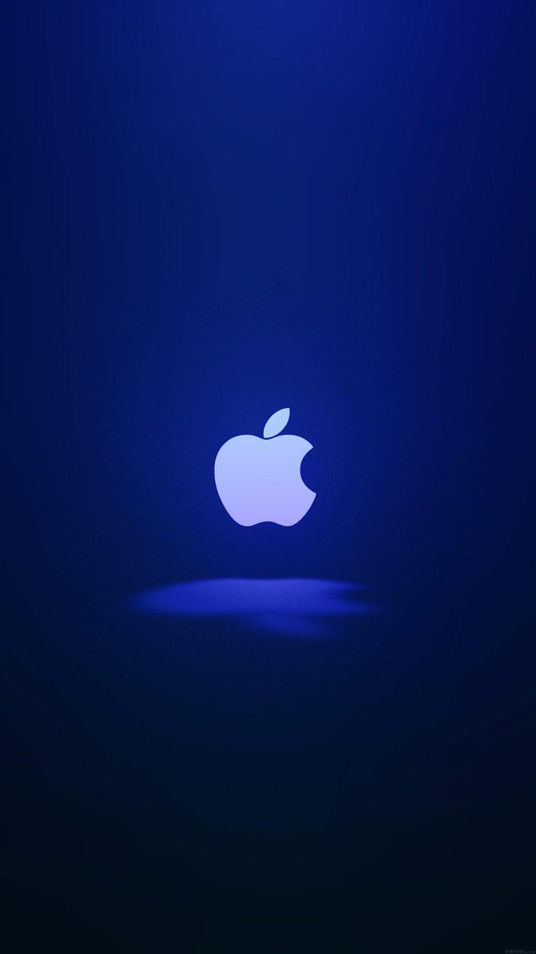 Apple Logo Love Mania Blue