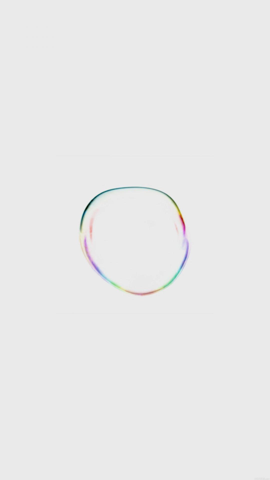 Apple Macbook Art Bubble White