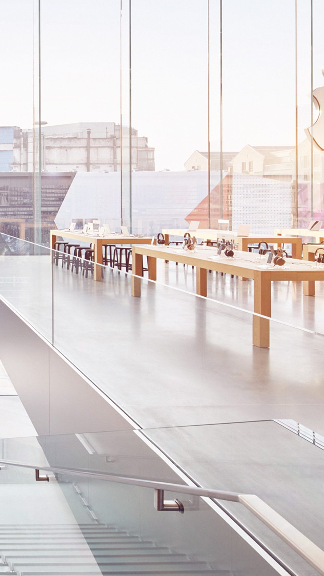 Apple Shop Store Interior City