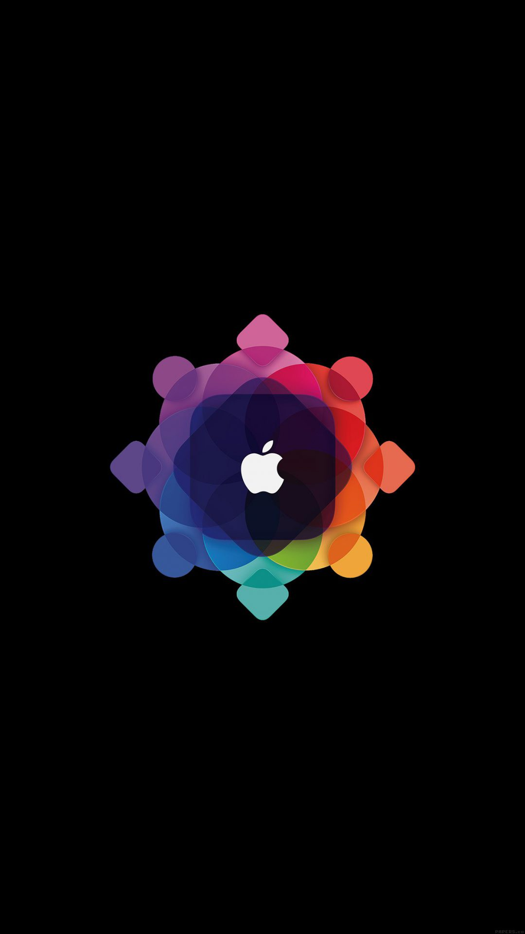 Apple Wwdc Art Logo Minimal Dark