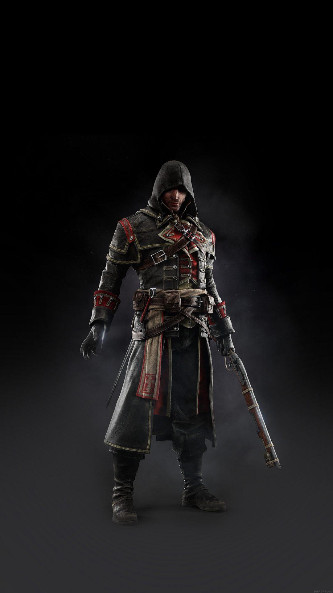 Assassins Creed Rogue Game Art Dark Shay Hood