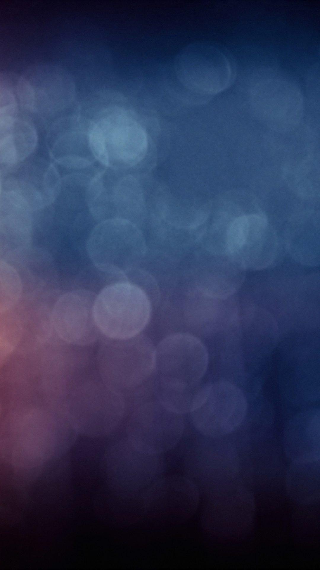 Bokeh Blue Purple Dark Night Pattern