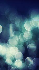 Bokeh Dark Nature Lights Blur