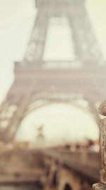 Bokeh Eiffel Tower Paris Nature