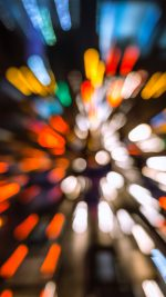 Bokeh Light Fast Speed Pattern Rainbow