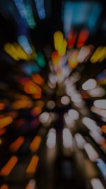 Bokeh Light Fast Speed Pattern Rainbow Dark