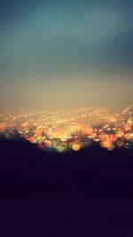 Bokeh Night City View Lights