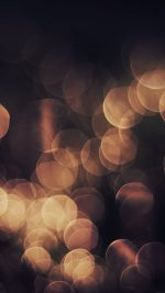 Bokeh Orange Nature Lights Blur