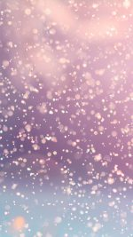 Bokeh Snow Flare Water Red Splash Pattern