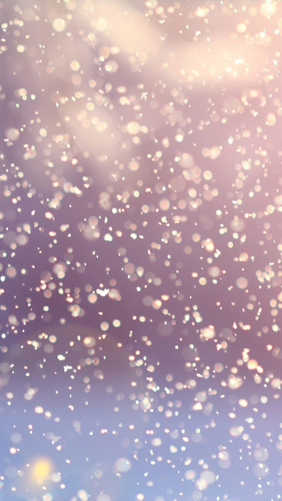 Bokeh Snow Flare Water Splash Pattern
