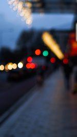 Bokeh Street Lights City Art