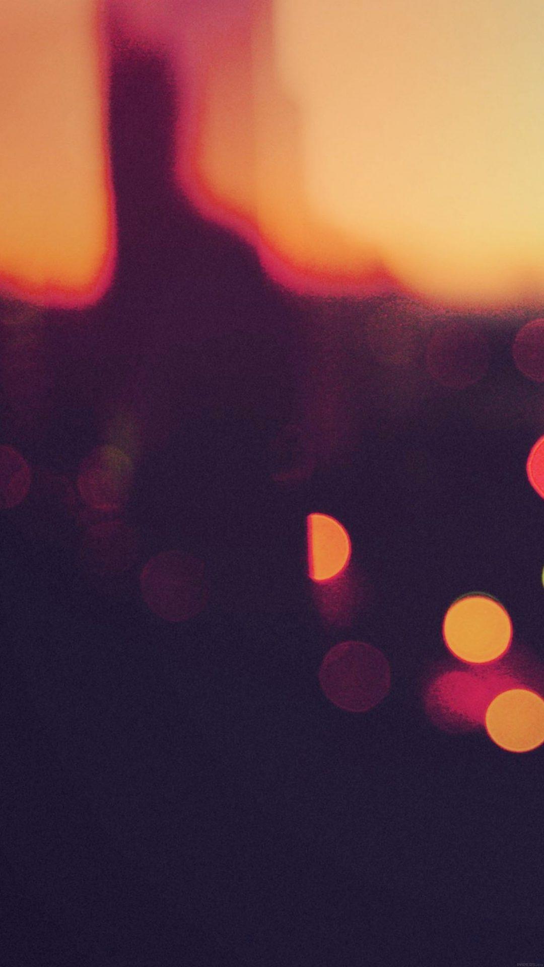 Bokeh Sunset Pattern