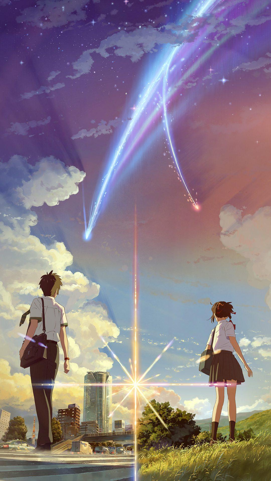 Boy And Girl Anime Art Spring Cute Flare