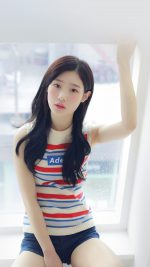 Chaeyeon Ioi Kpop Girl White Cute