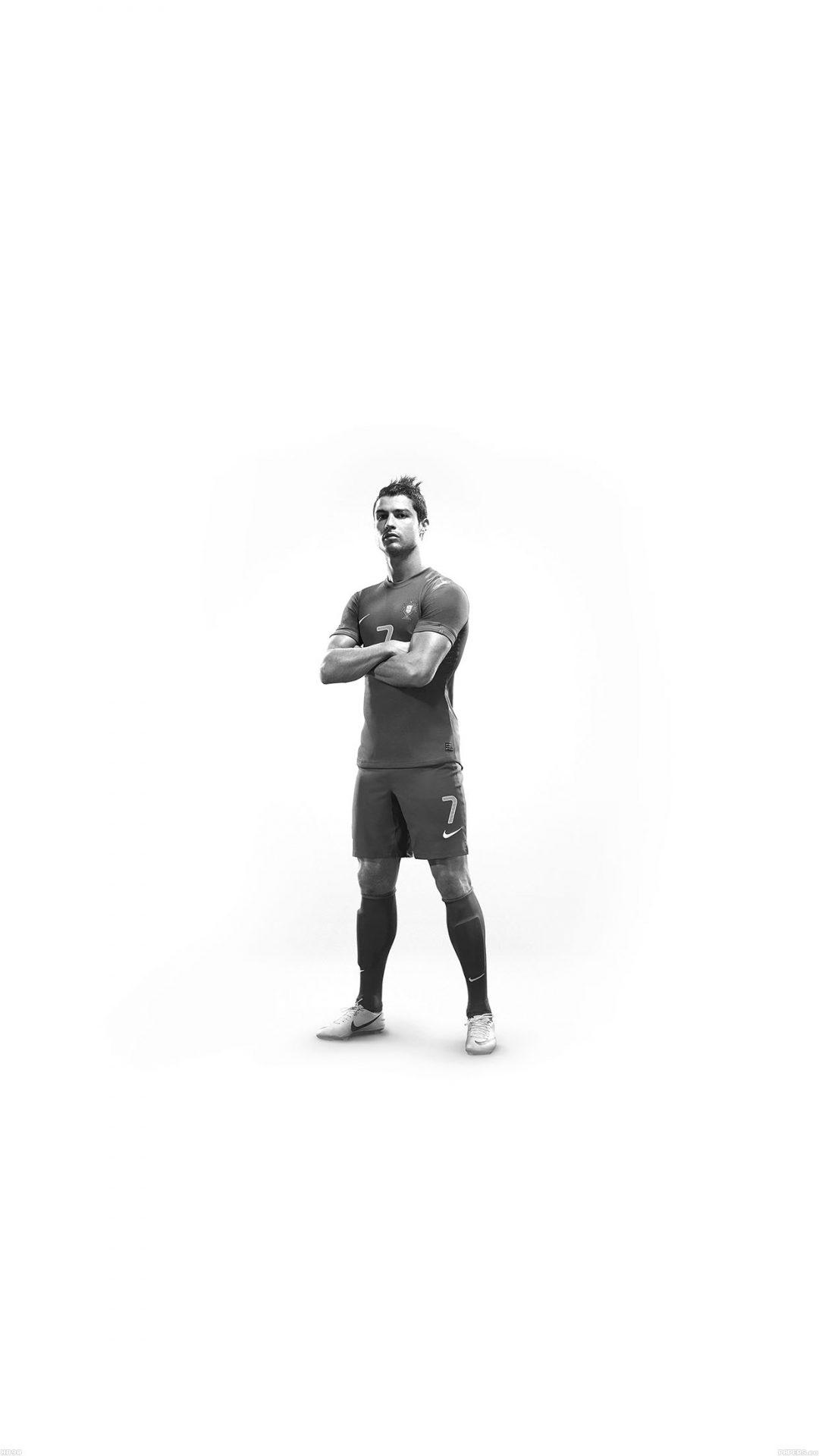 Christiano Ronaldo 7 Proud White