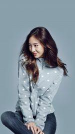 Crystal Kpop Girl Fx Blue