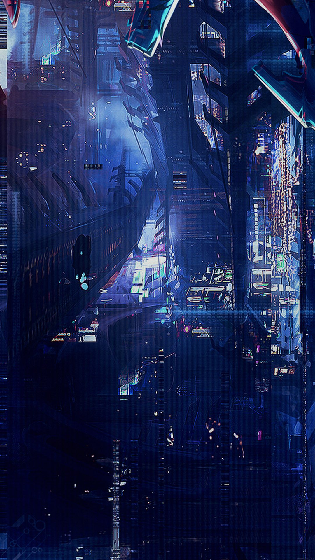 Digital World Anime Art Illust Urban