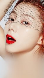 Face Kpop Sujin Lips Red