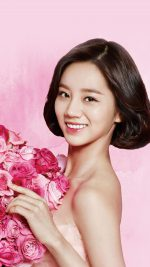 Flower Hyeri Cute Pink Kpop Girl