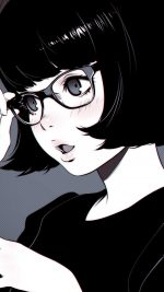 Girl Bw Anime Ilya Kuvshinov Illustration Art