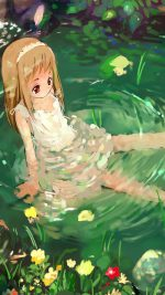 Girl Cute Anime Water