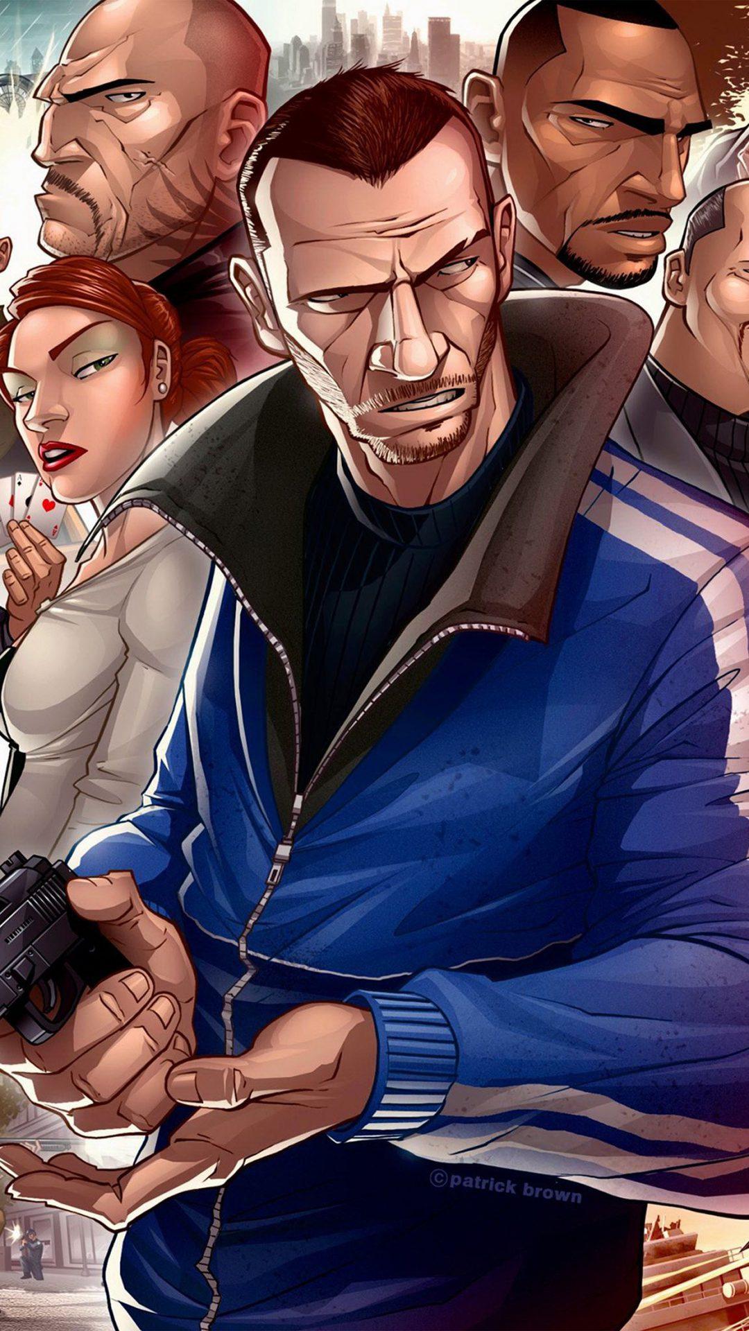 Gta Game Art Illustration Art