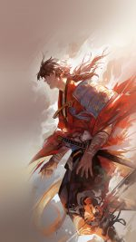 Hanyijie Hero Red Handsomeillustration Art Anime