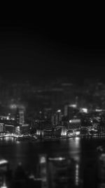 Hongkong Night Cityscapes Dark
