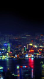 Hongkong Night Cityscapes Lights