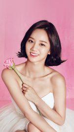 Hyeri Cute Pink Kpop Girl