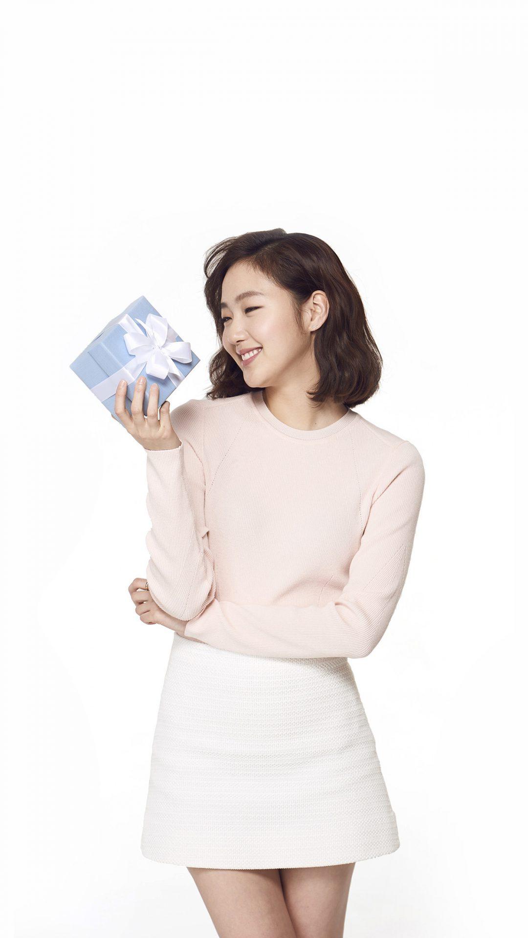 Kpop Goeun Gift Photo Celebrity Cute Smile