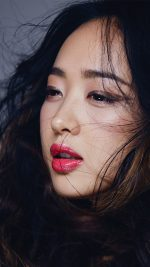 Kpop Leeminjung Cute Lips Red