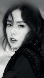 Kpop Minhyorin Girl Dark Bw Celebrity Bigbang