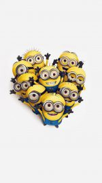 Minions Love Heart Cute Film Anime Art